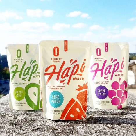 Hapi Water is an All-Natural Kids' Drink in a Handy To-Go Pouch