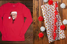 Branded QSR Holiday Products - The KFC Limited 2017 Holiday Collection is Vintage and Funky