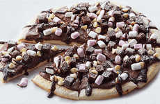 Decadent Chocolate-Packed Pizzas - The Domino's 'Chocoholic Dessert Pizza' is Available in Australia