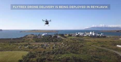 Airborne Food Deliveries