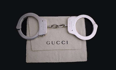 $65,000 Handcuffs - These Luxurious Gucci Handcuffs Were Designed by Tom Ford in 1998