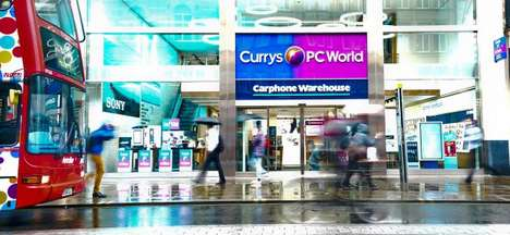 Two-Hour Delivery Services - Currys PC is Now Offering a Same-Day Delivery Service