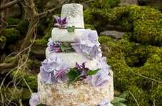 Cheese Wheel Wedding Cakes - The Fine Cheese Co. Makes Cheese Wedding Cakes for Special Occasions