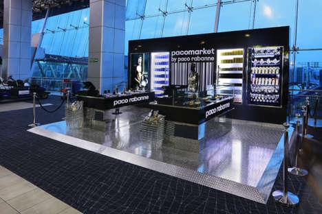 Airport Perfume Installations