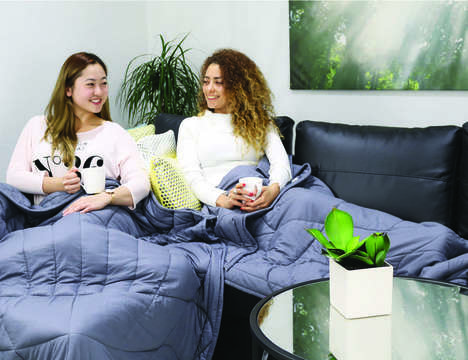 Anxiety-Alleviating Bedding