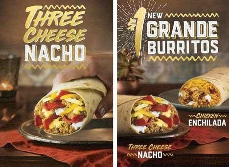 Premium Inexpensive Burrito Meals