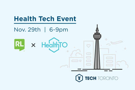 Tech-Centric Health Events - HealthTO Was Launched Alongside Safety Software Leader RL Solutions