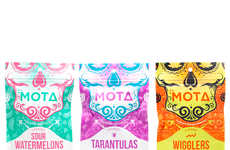 Fruity THC-Infused Gummies - The MOTA 'Medicated Gummies' Come in Classic Shapes