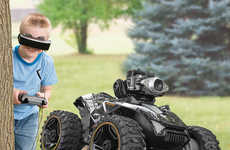 VR Remote Control Cars - The Silverlit FPV Spy Rover Puts Kids Virtually in the Driver's Seat