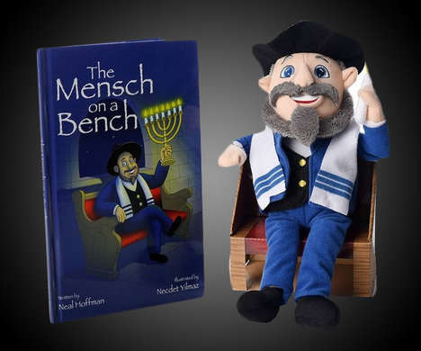 Educational Hanukkah Plush Toys