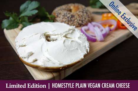 Spreadable Plant-Based Cheeses