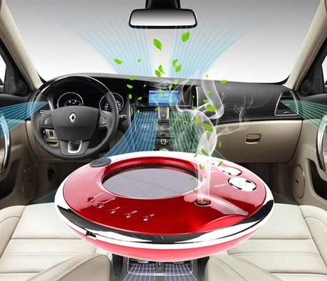 Relaxing Vehicular Humidifiers