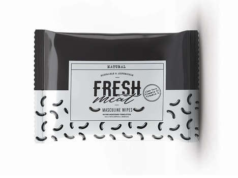 Refreshing Male Cosmetic Wipes