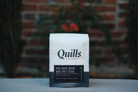 Punishment Coffee Blends - The 'Lump O Coal Blend' from Quills Coffee Repurposes a Ruined Batch