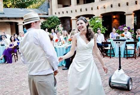 Interactive Wedding Robots