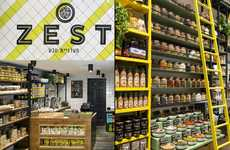 Rustic Deli Retailers - Israel's ZEST is a Grocery Store Modeled After an Authentic Outdoor Market
