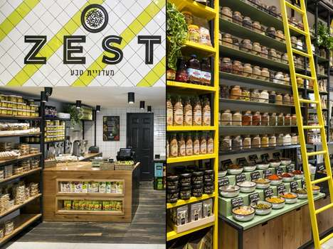 Israel's ZEST is a Grocery Store Modeled After an Authentic Outdoor Market
