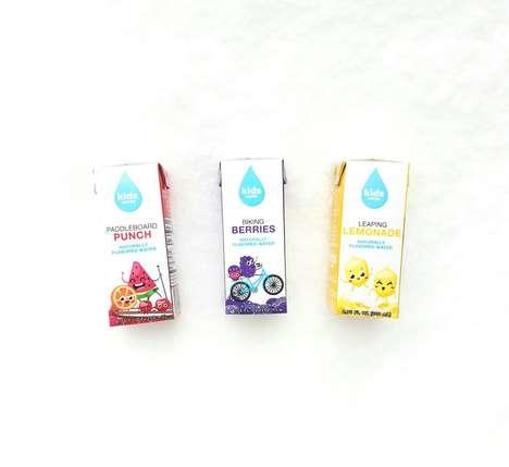 Kid-Friendly Flavored Waters