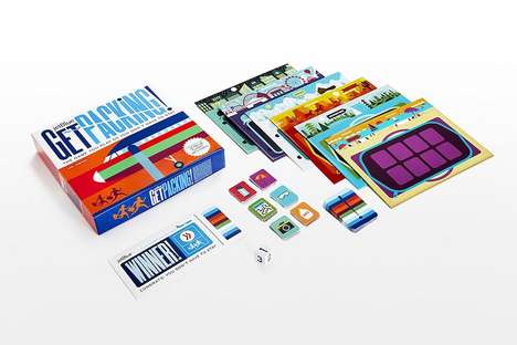 Travel Incentive Board Games - JetBlue's 'Get Packing!' Board Game Contains a Free Round-Trip Flight