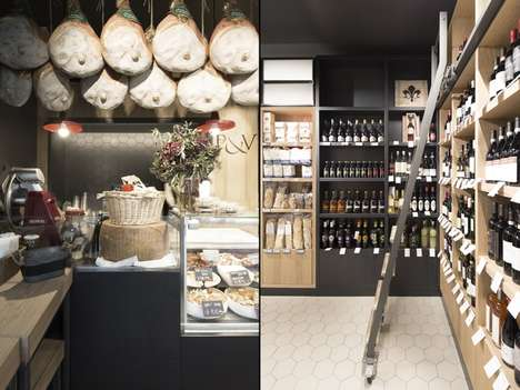 Wine-Pairing Deli Shops - London's Prezzemolo&Vitale Offers Artisanal Food and Beverage Selections
