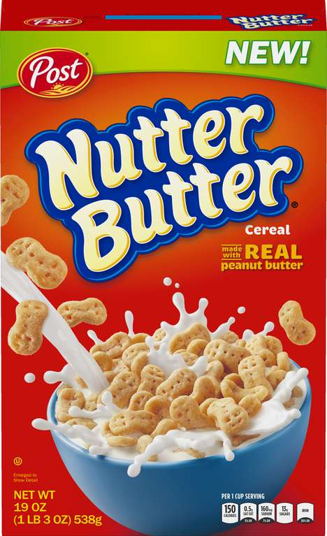 Cookie-Inspired Cereals - Post is Now Making Nutter Butter and Chips Ahoy! Cereals