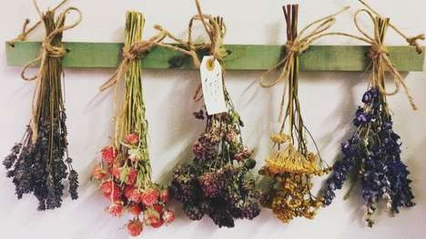 Artisanal Dried Flower Retailers - Dried Flower Forever Specializes in Bouquets for the Modern Bride