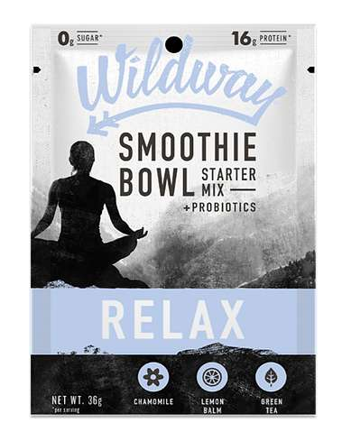 Functional Smoothie Bowl Mixes - Wildway's Drink Blends Encourage Restoration, Relaxation and More