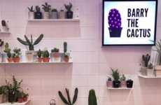 Pop-Up Cactus Shops - 'Barry The Cactus' is a Pop-Up Shop Housed Inside the Oxford Circus Topshop