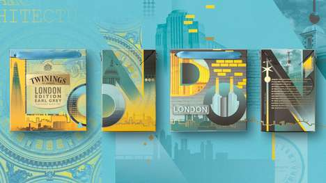 City-Specific Tea Packages - Twinings' 'London Edition' Range Celebrates Its Origins