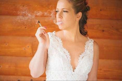 Weed-Themed Weddings