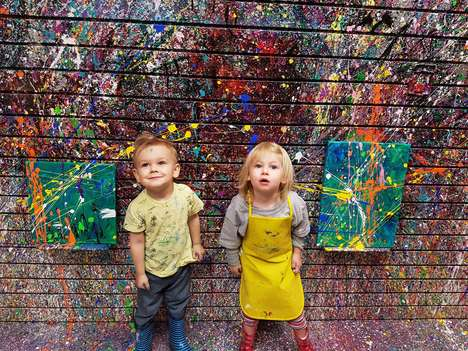Kids are Encouraged to Get Creative at the Make a Mess Art Studio