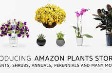 eCommerce Plant Shops - The 'Amazon Plants Store' Sells Indoor Plants with Next-Day Delivery