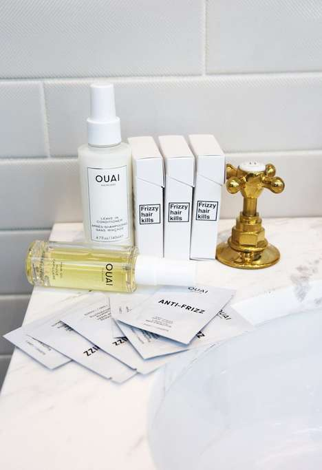 Frizz Control Hair Sheets - The Ouai's 'Anti-Frizz Hair Sheets' Tame and Smooth Static-Phone Hair