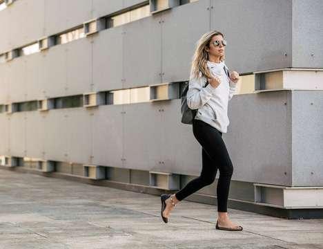 Ergonomic Open-Style Footwear