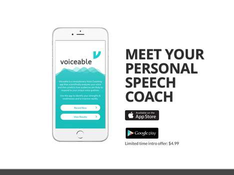 Voice-Analyzing Communication Apps