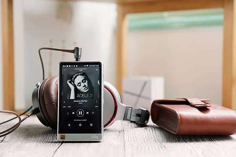 Audiophile-Approved MP3 Players - The HiBy R6 Android HiFi Music Player is Professional Quality