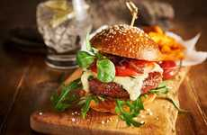 Vegan Vitamin Burgers - Moving Mountains Foods' 'B12 Burger' is Enriched with Vitamin B12