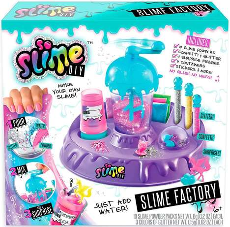 DIY Slime Playsets