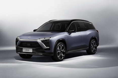 Swappable Battery Electric SUVs - The Nio ES8 Can be Purchased with a Battery Subscription Service