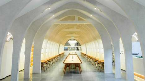 Church-Like Co-Working Spaces