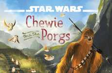 Charming Sci-Fi Storybooks - 'Star Wars: Chewie and the Porgs' Details an Adorable Storyline