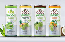 Textured Nutrient Beverages - These New Drinks from Krynica Vitamin are Packed with Fresh Particles