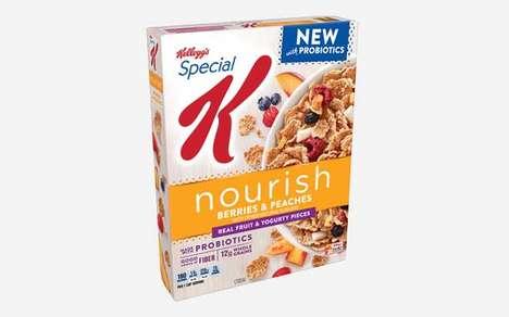 Probiotic-Infused Cereals