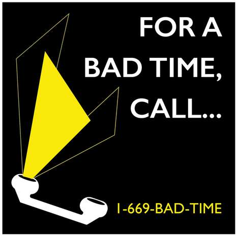 Raging Rant Hotlines - The 'For a Bad Time Call...' Project Gives Women a Space to Blow Off Steam