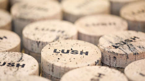 Cork-Based Bath Tins - Lush Cosmetics is Replacing Its Reusable Metal Tins with Eco-Friendly Cork