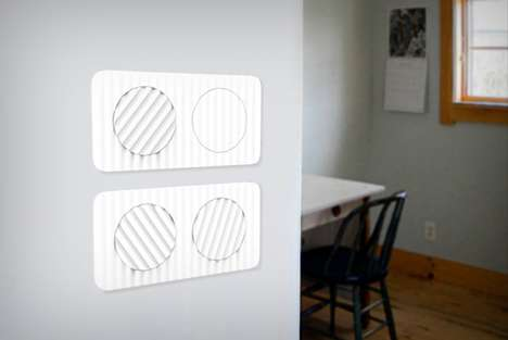 Intentionally Imbalanced Light Switches - The 'OCD Switch' Encourages You to Turn Items Off