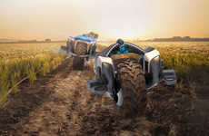 Transforming Tractor Vehicles - The 'Trakthor' Has Multiple Modes to Get Farm Work Done