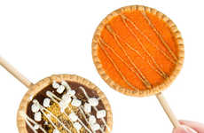 Baked Dessert Lollipops - These Pie Lollipops Come in Several Tasty Options to Enjoy Anywhere
