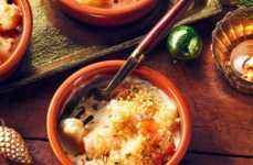 Shrimp and Scallop Appetizers - PC's 'Shrimp & Scallops Au Gratin' Pairs with Toasted Baguette