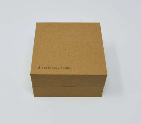 Symbolic Gift Boxes - MW Luxury Packaging Created a Charitable Gift Box for Christmas